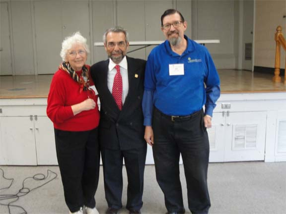 SCAS Member with AARP President
